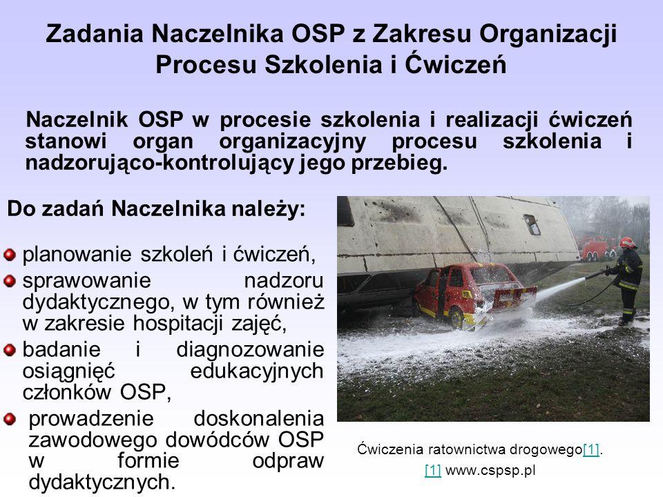 Ćwiczenia ratownictwa drogowego[1]. [1] www.cspsp.pl
